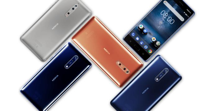 คอนเฟิร์ม HDM เตรียมออก Nokia 8 สเปค RAM 6GB+ROM 128GB เดือน ต.ค.นี้