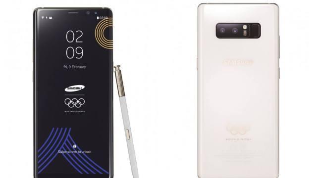 Samsung เปิดตัว Galaxy Note8 รุ่นลิมิเต็ด ฉลองโอลิมปิคฤดูหนาว ปี 2018