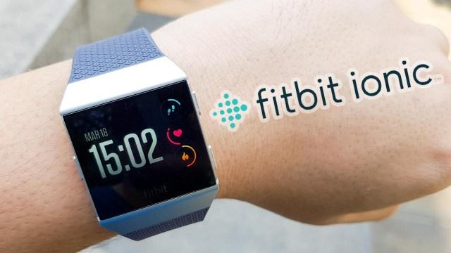 [Review] Fitbit Ionic สมาร์ทวอทช์ฟังก์ชั่นครบเครื่อง พร้อมคุณสมบัติกันน้ำระดับ 5 เมตร