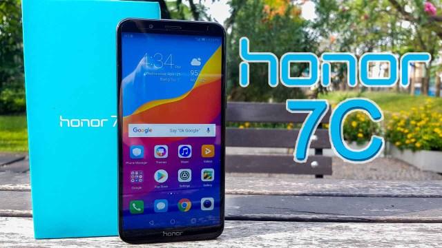 สัมผัส Honor 7C สมาร์ทโฟนสุดคุ้มจอ FullView ติดกล้องคู่ กับราคาเริ่มต้น 4,690 บาท