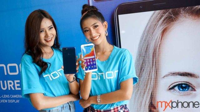 Honor 7C สมาร์ทโฟนรุ่นเล็ก จอ FullView กล้องคู่ 13+2MP พร้อมขายในไทย 8 พ.ค.