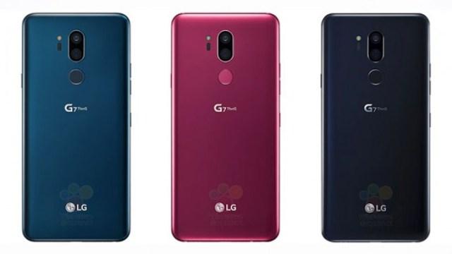 ภาพหลุด LG G7 ThinQ พร้อมสเปคมีขาย 3 สี ก่อนเปิดตัวเร็วๆนี้