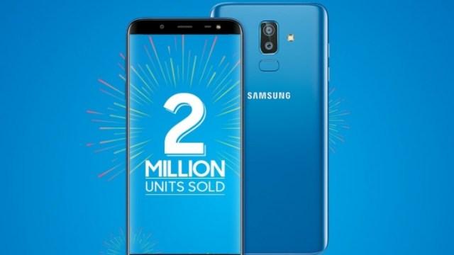Samsung ฉลองยอดขาย Galaxy J8 / Galaxy J6 ที่อินเดียแตะ 2 ล้านเครื่องแล้ว