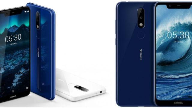 เปิดตัว Nokia X5 ชิป Helio P60 มีกล้องคู่ จอไร้ขอบ 19:9 สัดส่วน 84%