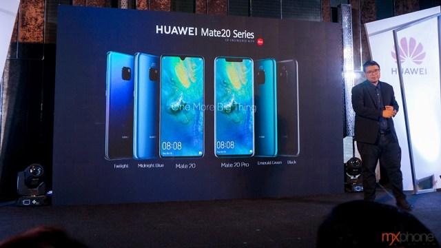 ประกาศราคา Huawei Mate20 Series ในไทย เปิดที่ 24,990 บาท เริ่มจอง 26 พ.ย.
