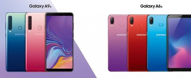เปิดตัว Samsung Galaxy A9s และ Galaxy A6s สมาร์ทโฟนรุ่นแรกที่ผลิตผ่าน ODM