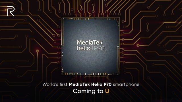 คอนเฟิร์ม MediaTek Helio P70 ใส่ใน Realme U เป็นรุ่นแรก