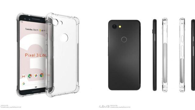เผยภาพเคส Google Pixel 3 Lite มีปรับดีไซน์แค่เล็กน้อย