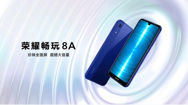 เปิดตัว Honor 8A สมาร์ทโฟน จอ 6 นิ้ว ชิป Helio P35 รัน Android 9.0 Pie