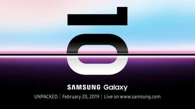 มาแล้ว! Samsung Galaxy S10 พร้อมเปิดตัว 20 ก.พ. ที่สหรัฐฯ