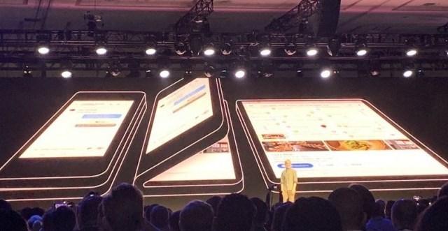Samsung Galaxy F สมาร์ทโฟนจอพับได้จะติดกล้องหลัง 3 ตัว