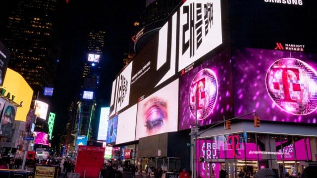 Samsung ขึ้นป้ายต้อนรับสมาร์ทโฟนรุ่นใหม่ ใน 5 เมืองใหญ่ทั่วโลก
