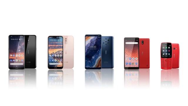 Nokia เปิดตัวสมาร์ทโฟนใหม่ 4 รุ่น ในงาน MWC 2019