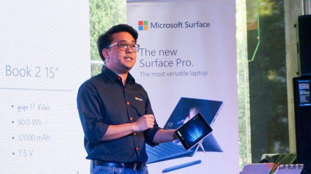 Microsoft ส่ง Surface Pro 6/ Surface Laptop 2 /Surface Go LTE บุกไทย