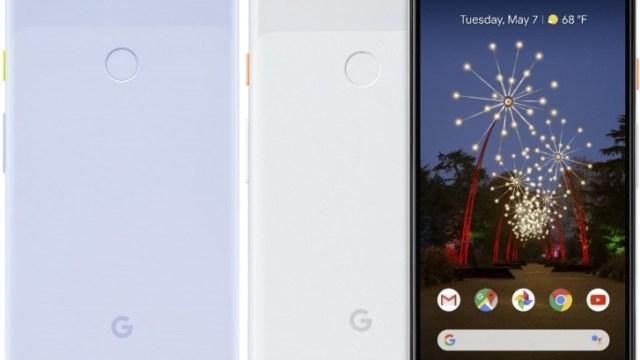 ภาพหลุด Google Pixel 3a สีม่วงอ่อน มีปุ่ม Power สีเหลือง