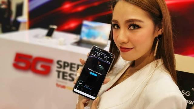 หัวเว่ยและทรู โชว์ 5G สุดล้ำบน  HUAWEI Mate 20 X 5G ในงานหอการค้าแฟร์ 2019