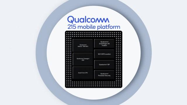 เปิดตัว Snapdragon 215 ชิปรุ่นเล็ก ใช้ CPU 64-bit และรองรับกล้องคู่