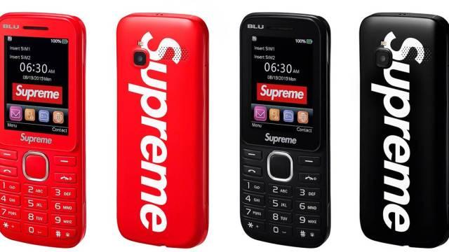 Supreme เปิดตัวฟีเจอร์โฟนเพื่อคนแฟชั่น รองรับ 3G มีกล้องถ่ายรูป