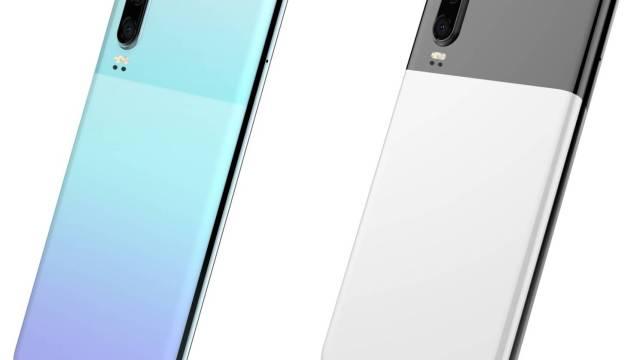 Huawei P30 อาจมีตัวเลือกสีใหม่แบบทูโทนคล้ายกับ Pixel