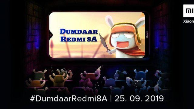 Xiaomi พร้อมเปิดตัว Redmi 8A วันที่ 25 ก.ย.นี้ ชูสเปคแบตฯ 5000mAh