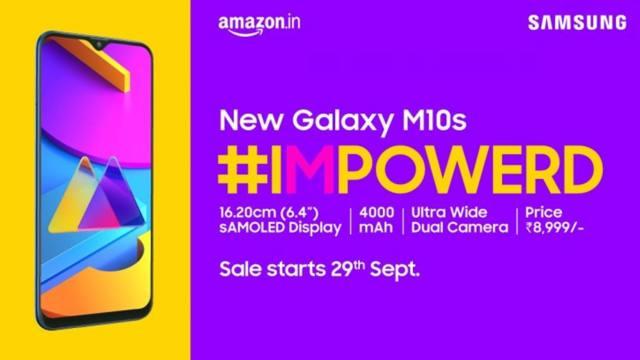 Samsung เปิดตัว Galaxy M10s และ M30s ที่อินเดีย เคาะเริ่มต้นที่ 3,8xx บาท