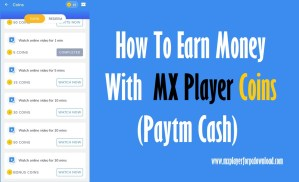 Earn Money With MX Player