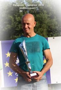 Jan Blancquaert: Europees kampioen 50+