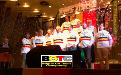 De Belgische kampioenen Oldtimercross 2017