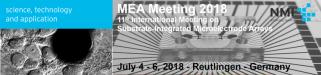 MEA Meeting 2018 Logo