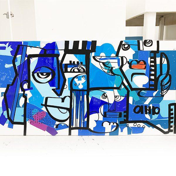 Totem Box Small mini fresque plexi Idee Trophee aNa Artiste