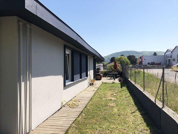 Pelouse Terrasse Ouest dans habitation 190 m2 A Vendre Couzon-au-Mont-d'Or Monts d'Or Lyon Nord