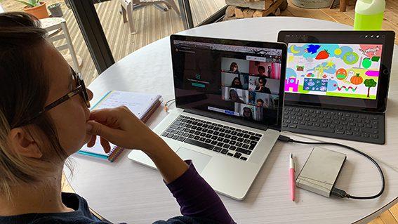Idée Webinaire Team building Original Fresque Digital