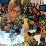 Team Building Fresque Télétravail ana artiste