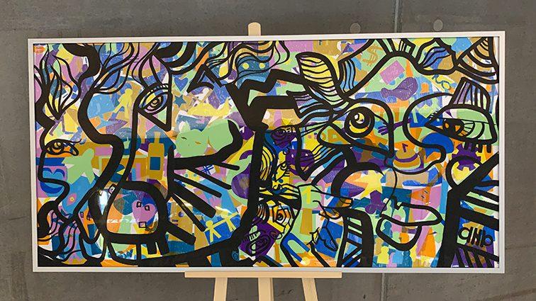 Idée Fresque Collaborative Lyon