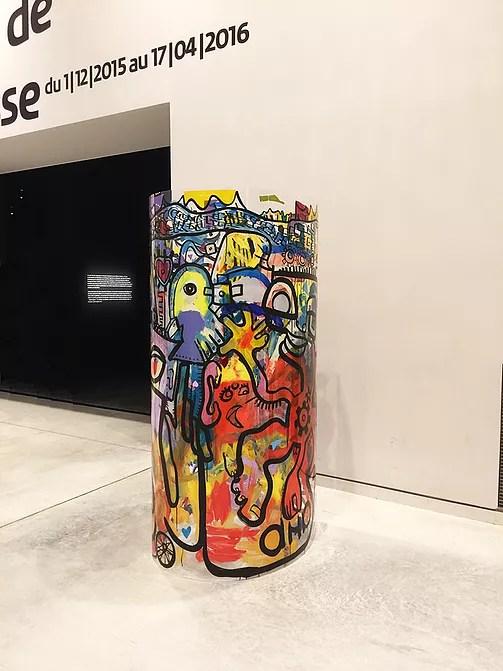Œuvre d'Art Collaboratif exposé au Musée de la Confluence de Lyon