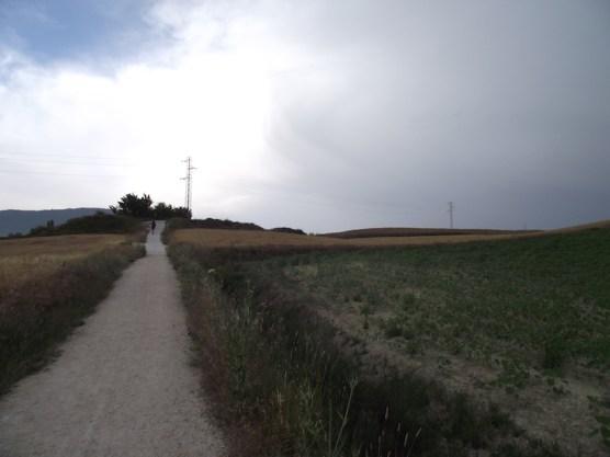Jakobsweg 2011: Alto del Perdon