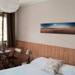 Chambre parentale de la chambre d'hôte l'Océane au Cap Ferret