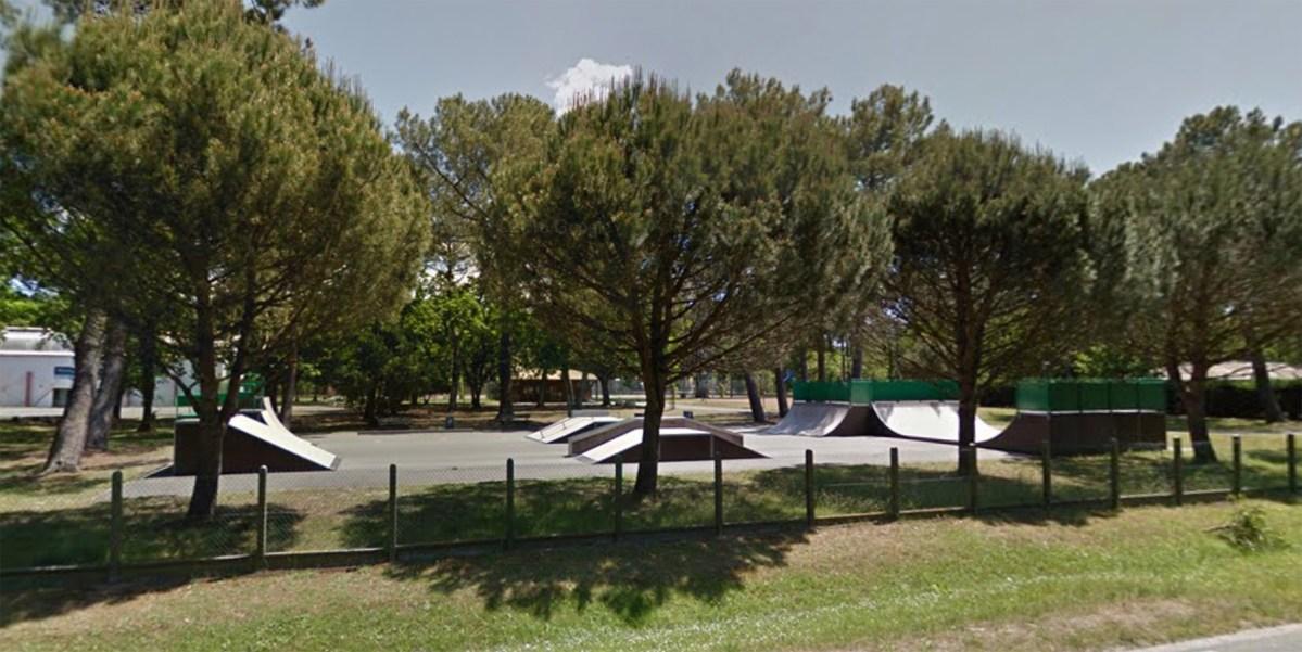 Skate Park de Claouey au Cap Ferret