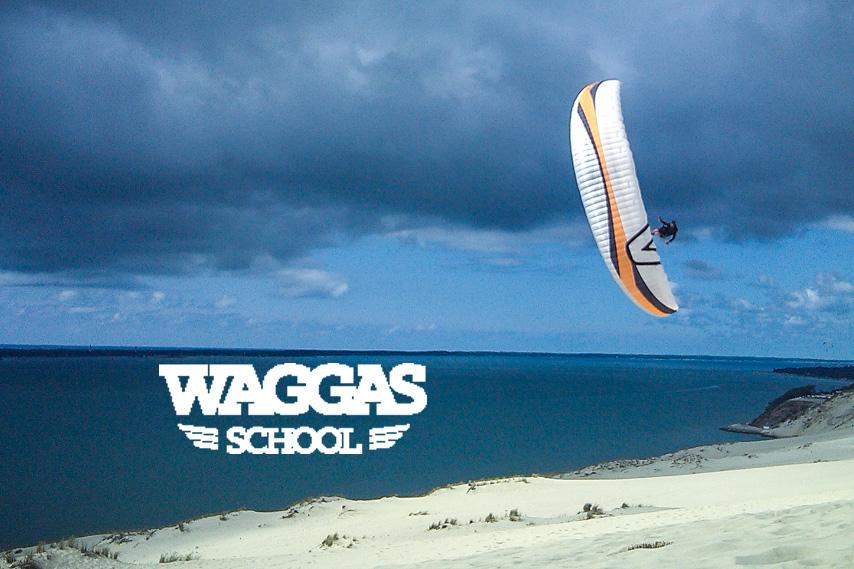 Waggas School école de parapente sur la dune du Pilat