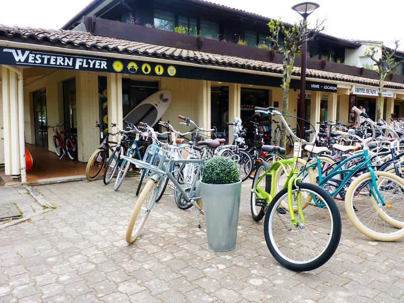 Western Flyer location vélo au Cap Ferret