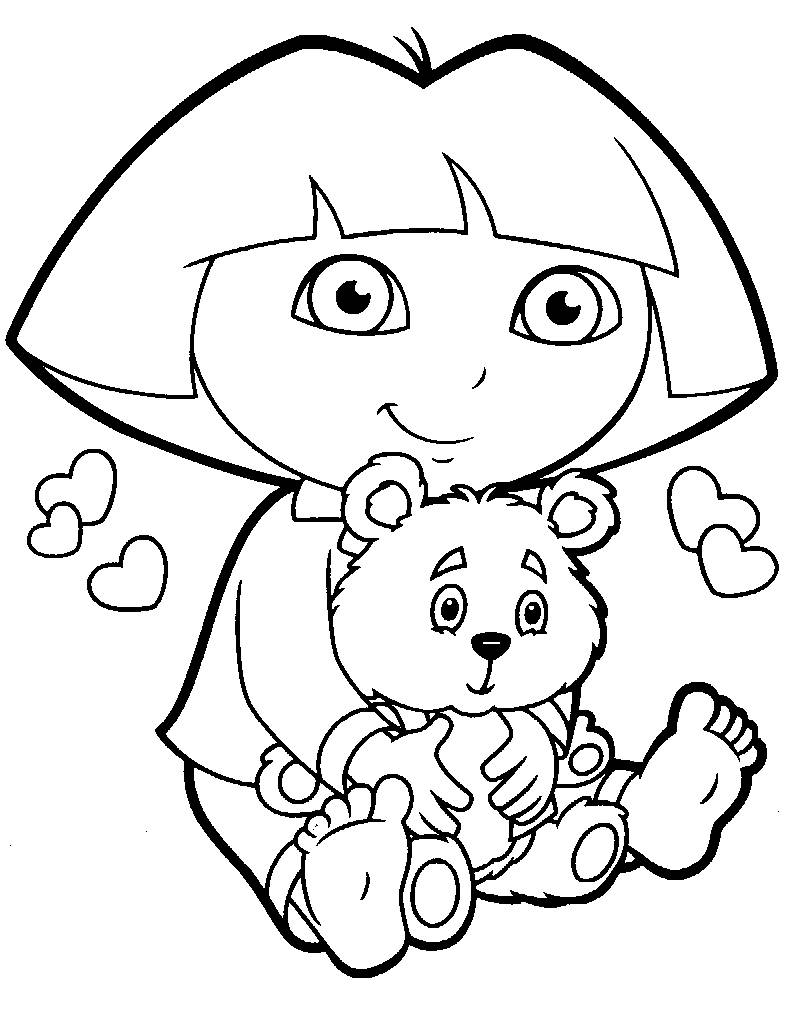 Coloring Pages Dora And Diego Picture 26