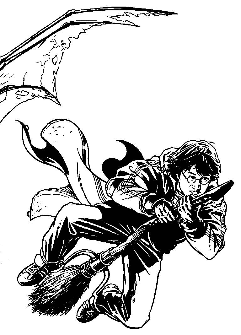Coloring Pages Harry Potter Picture 115