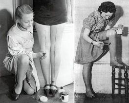 Femmes et bas