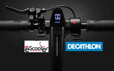 eScooter teams up with Decathlon!