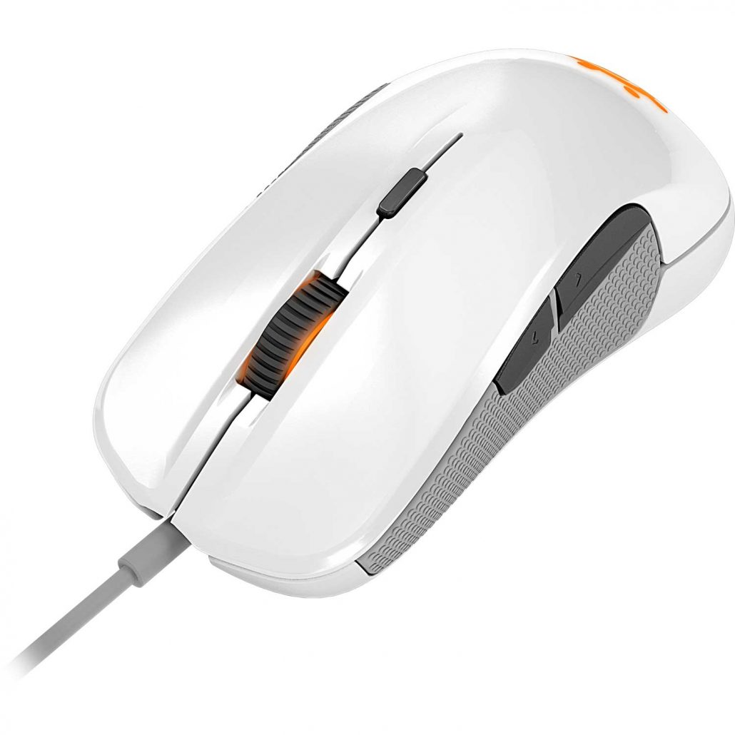 Souris SteelSeries Rival 300 - Blanche