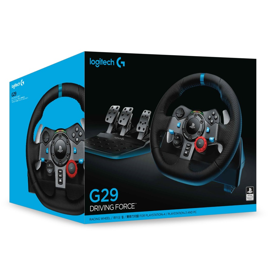 volant g29 driving force racing wheel pour ps4 pc my esport. Black Bedroom Furniture Sets. Home Design Ideas
