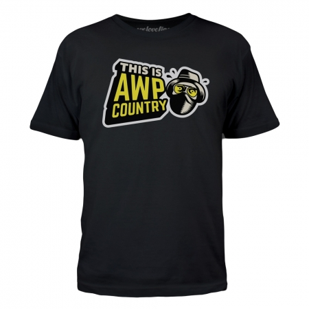 T-Shirt CS:GO AWP Country