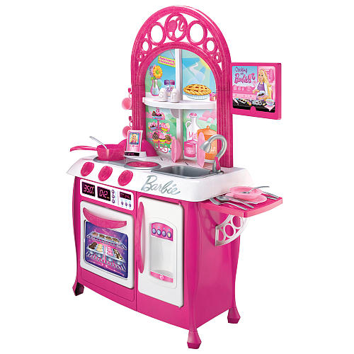 My Family Fun Barbie Gourmet Kitchen Create A Truly