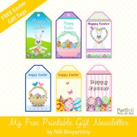 Free printable gift tags for easter merry christmas and happy new free printable gift tags for easter negle Images