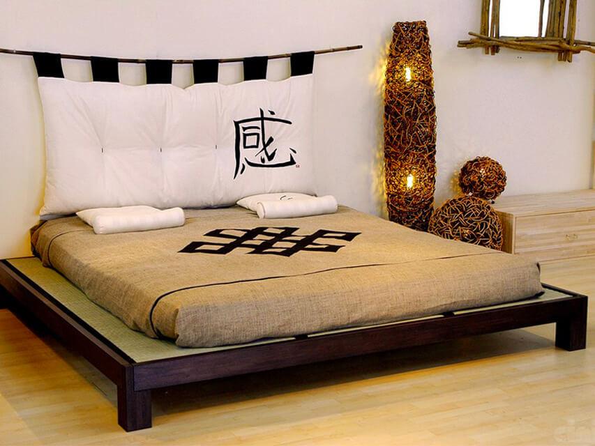ensemble lit futon tatamis meiyo
